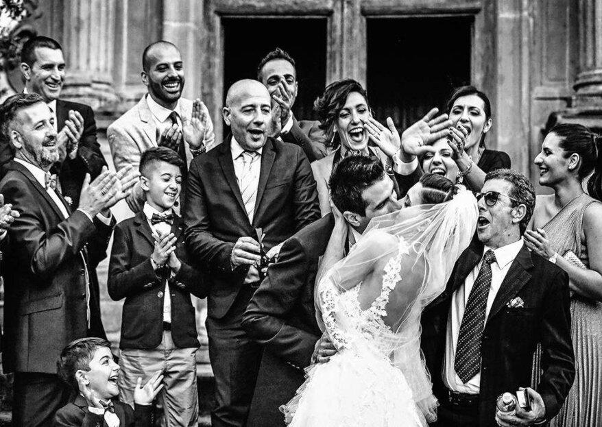 Alla base degli scatti di Studio 58 c'è la spontaneità di raccontare i momenti più belli del matrimonio