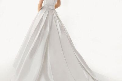 5 aspectos que debes saber para elegir la cauda de tu vestido de novia