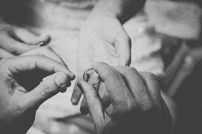 4 truques para combinar anel de noivado e aliança