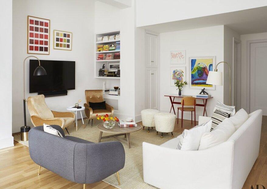 Cómo decorar su primera casa juntos ¡4 consejos imprescindibles!