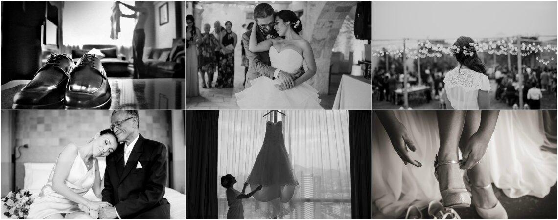 ¿Fotografías en blanco y negro para tu matrimonio? ¡La clave para conseguir imágenes emotivas!