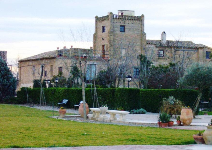 Torre del Pino: vive cada momento de tu boda en un lugar mágico, con historia y en Zaragoza