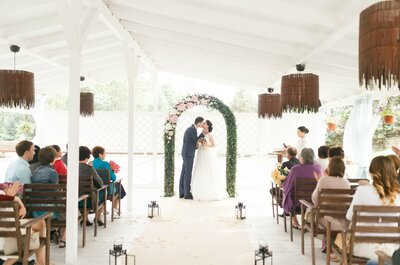 Нежная свадьба Татьяны и Константина: красота в деталях