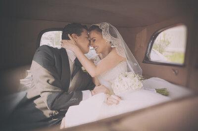 Los secretos para que salgas como una modelo en tus fotos de boda