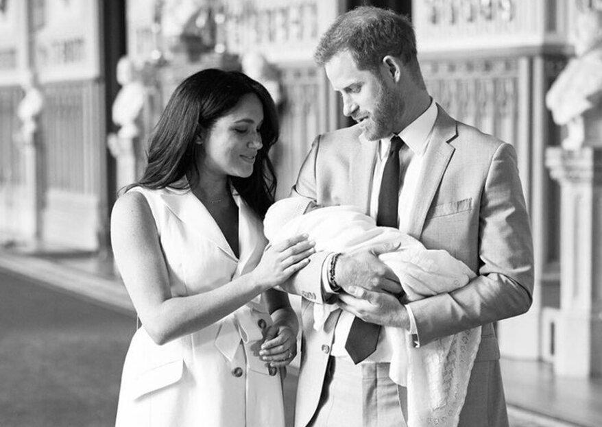Harry und Meghan zeigen erste Baby Fotos ihres Sohnes
