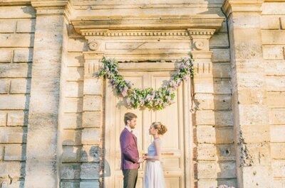 Аромат сирени: романтичная весенняя свадьба