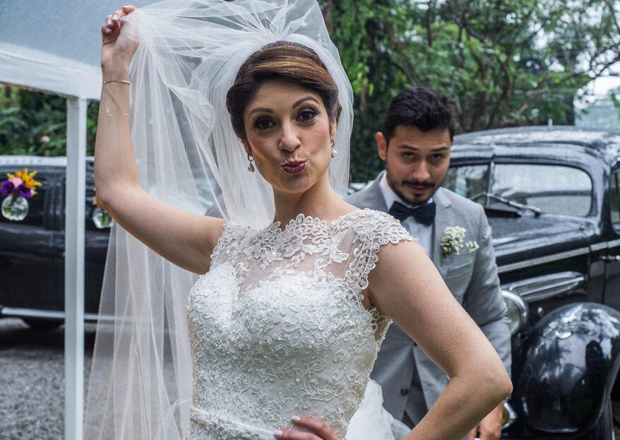 Casamento vintage com toques rústicos de Mariana & Michel: cheio de amor e magia