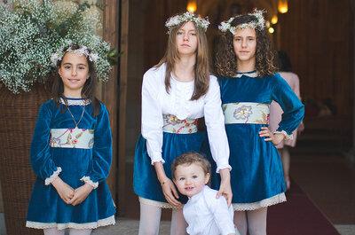 Dzieci na weselu: stylizacja najmłodszych