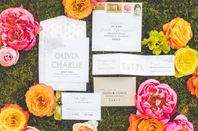 Pop of color: Una boda con brillo de colores y la hermosura de la naturaleza, la decoración ideal