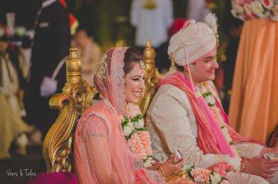 Superb vintage wedding of Ruhani and Ashim in Punjab