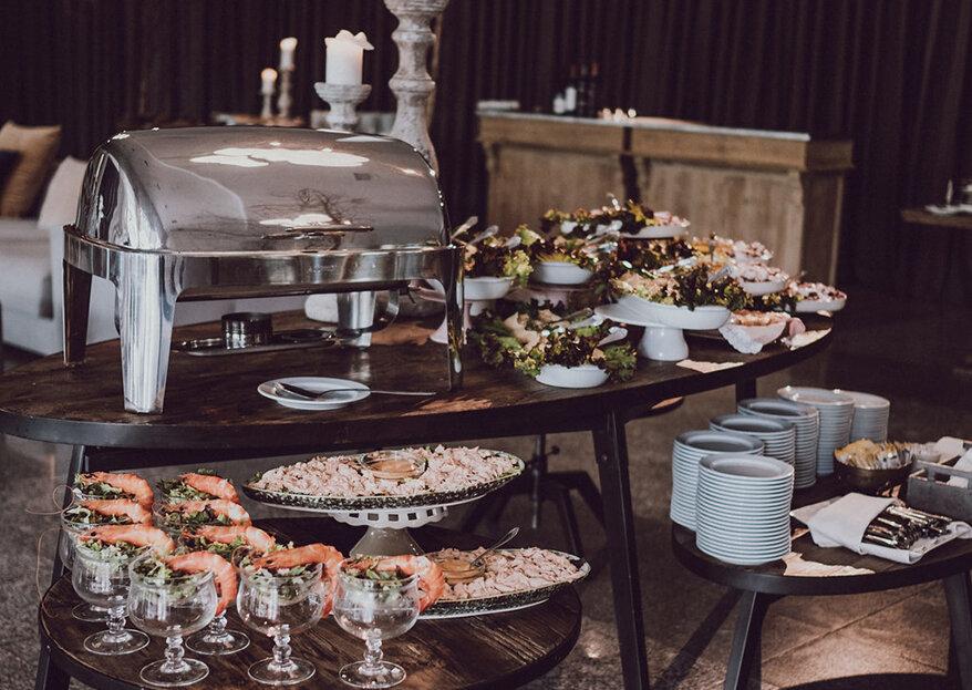 Como escolher o menu do casamento em cinco passos