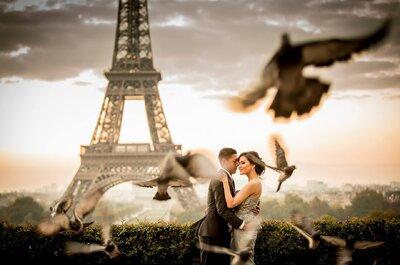 Quando la vostra luna di miele incontra Parigi: 4 cose da fare assolutamente nella città dell'amore