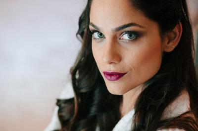 Cabelo e maquiagem de noiva em Curitiba: conheça 8 profissionais incríveis