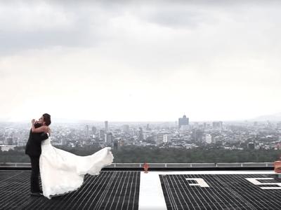 Desde el primer momento que te vi: La boda de Lili y Ciro