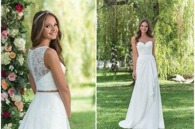 Retrouvez toutes les grandes marques de robes de mariée dans cet espace mariage incontournable