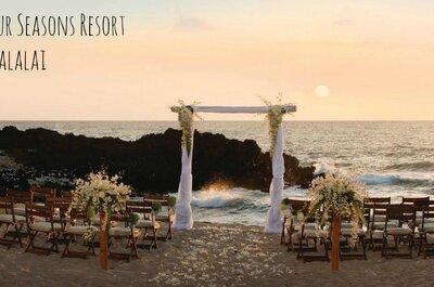 6 hôtels pour organiser un mariage de star inoubliable