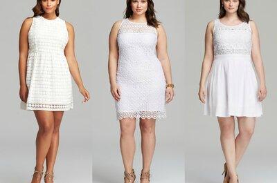 Los mejores y más lindos vestidos de novia para presumir tus curvas... ¡Qué importa la talla!