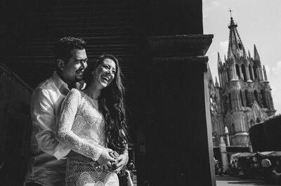 Lili y Jorge: Una boda con muy buena vibra en San Miguel al ritmo del mariachi