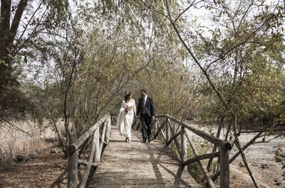 Nuestro propio cuento: la boda de Manuel y Carmen