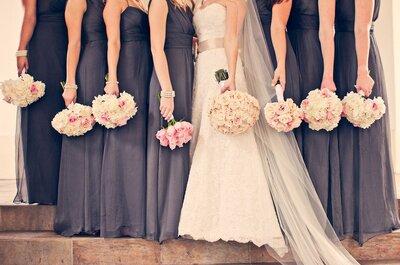 Consejos para elegir el mejor vestido para damas de boda