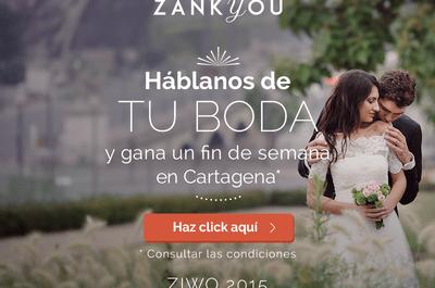 Participa en la segunda encuesta internacional sobre bodas y gana un fin de semana en Cartagena