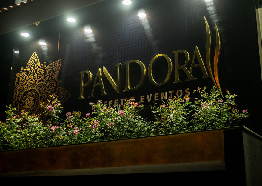 Espaço Pandora: Serviço completo e de qualidade para realizar todos os sonhos dos noivos