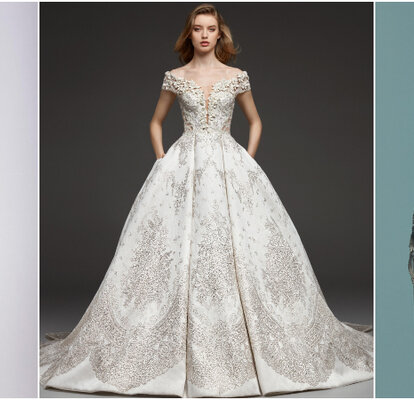 8efd08cc7461 Vestidos de novia con pedrería: ¡diseños que derrochan lujo y glamour!