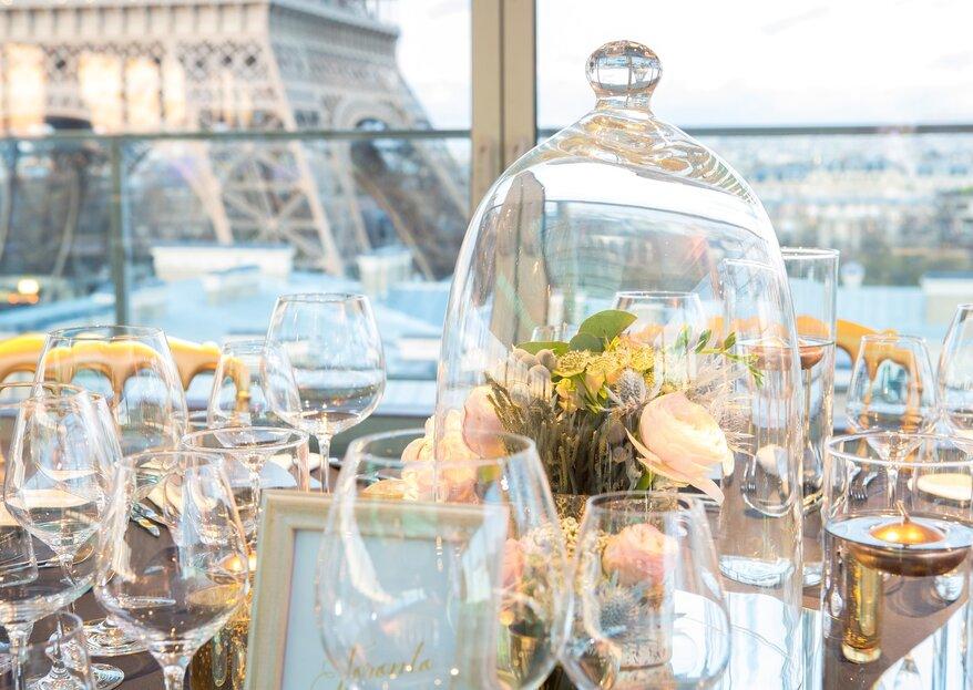 Um cenário excepcional para um casamento em Paris: Pullman Paris Tour Eiffel