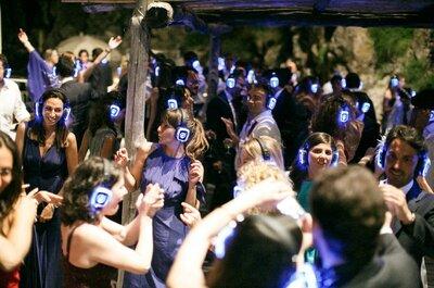 Il Silent Party per il tuo matrimonio: un'idea per far festa fino all'alba!