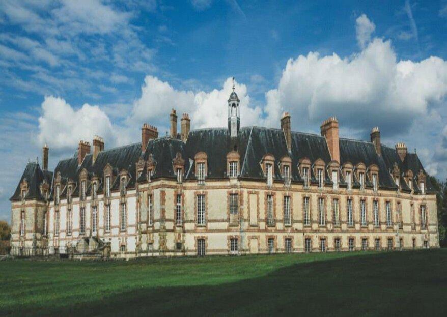 Le Château et le Relais de Neuville : deux propriétés différentes sur un même domaine pour un mariage prestigieux