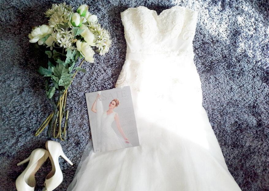 El vestido de novia perfecto según tu silueta. ¡Descubre qué te va mejor!