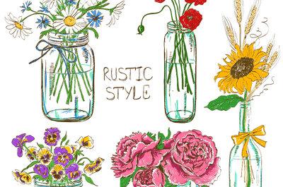 Jak z zużytych butelek i słoików stworzyć weselną dekorację? Zrób to sama!