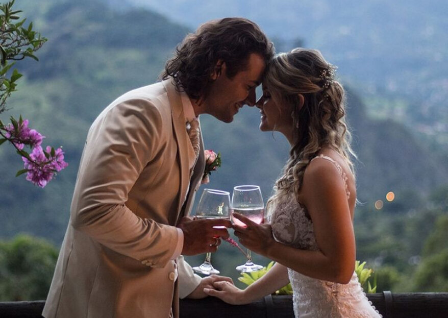 Tu boda entre las montañas que rodean a Eventos Bariloche ¡y muy cerca de Medellín!