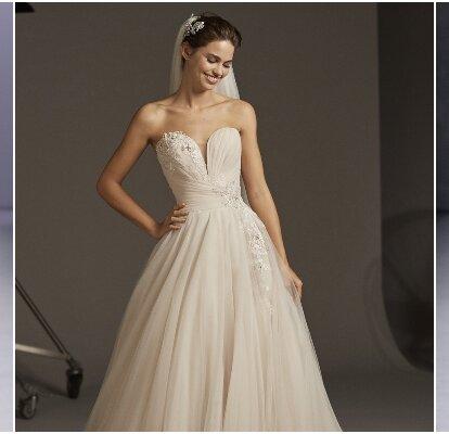 magasiner pour le luxe nuances de acheter maintenant Robes de mariée coupe princesse : 115 modèles ...