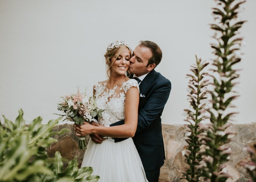 No hay nadie más: la boda de Rebeca y Diego
