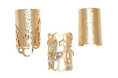 Joyas para novia de oro colección Elie Saab 2013