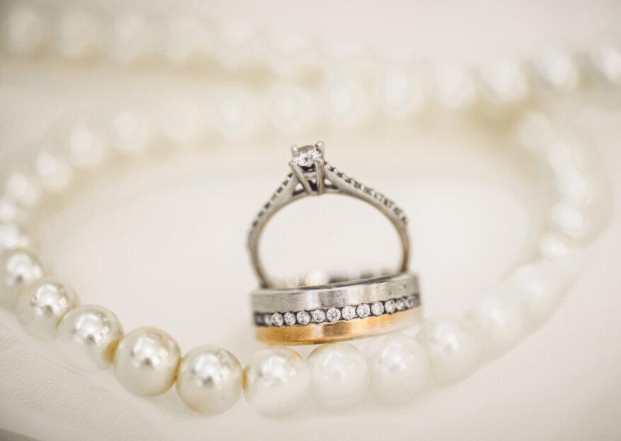 ¿Cómo elegir las joyas de matrimonio? ¡Asegúrate de brillar camino al altar!