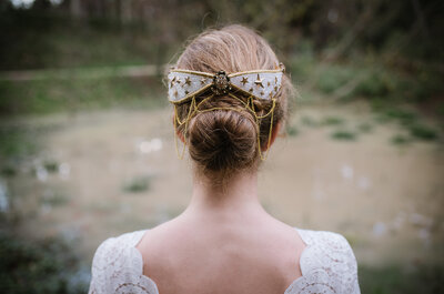 Escoge el peinado perfecto según el escote de tu vestido de novia. ¡Sigue los consejos de los expertos!