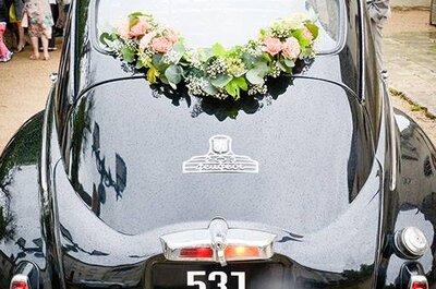 Comment décorer votre voiture de mariage ? Faites une entrée remarquée !