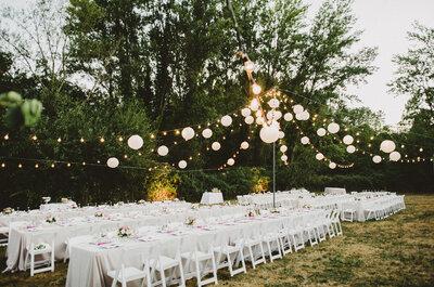 Cómo elegir un local para tu recepción de matrimonio. ¡Nueve consejos imperdibles!