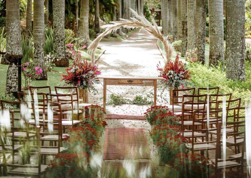 Espaço Shangrilá: Um verdadeiro refúgio natural para quem sonha em casar ao ar livre
