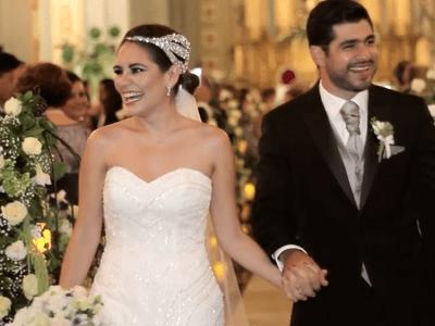 Cuando estoy contigo soy quien quiero ser: Marifer e Israel y una boda súper romántica
