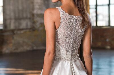 Não perca os novos vestidos de noiva Justin Alexander Signature Outono-Inverno 2016-2017