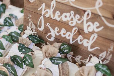 Apuesta por las flores y plantas como recuerdos para los invitados a tu matrimonio