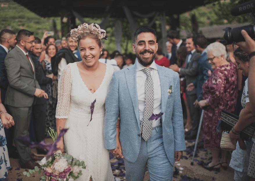Un amor de siempre y para siempre: la boda de Tamara y Jesús