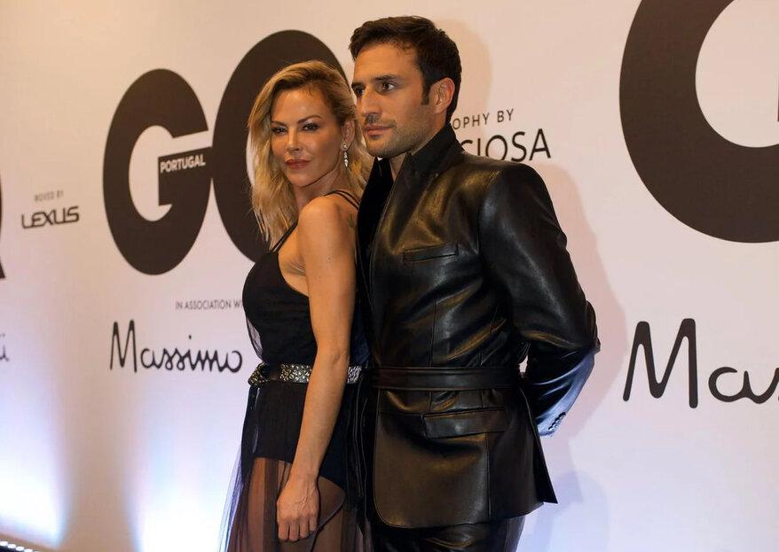 E viva o amor:  José Fidalgo e Oceana Basílio estão novamente juntos!