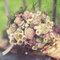 Ramo de novia con flores de otoño.