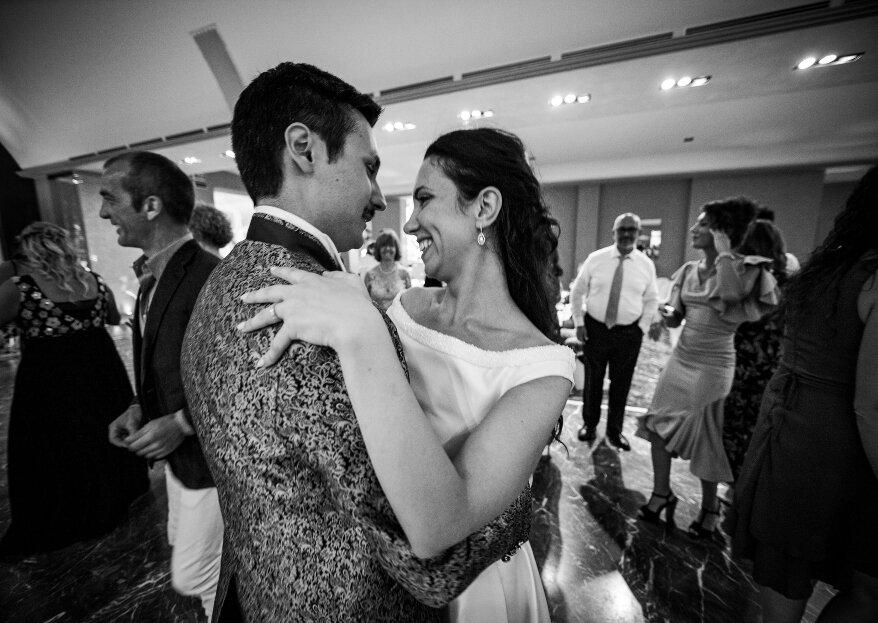 Valerio e Magda, un matrimonio all'insegna di tradizioni nostrane e internazionali, per un amore da favola!