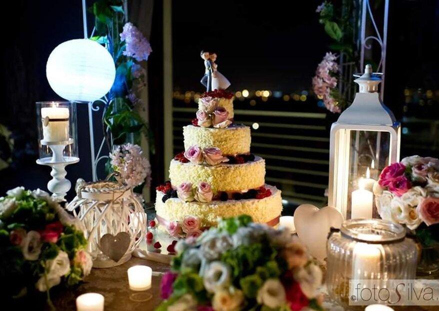 Magnolia Eventi e l'arte dell'alta pasticceria al servizio della vostra wedding cake da sogno!