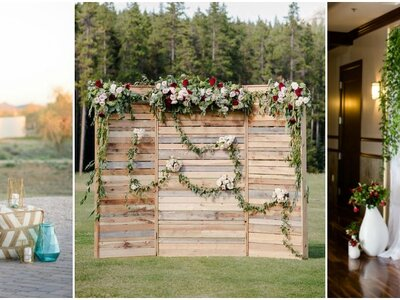 Photocall na Twój ślub: ściany kwiatów robiące wspaniały efekt!